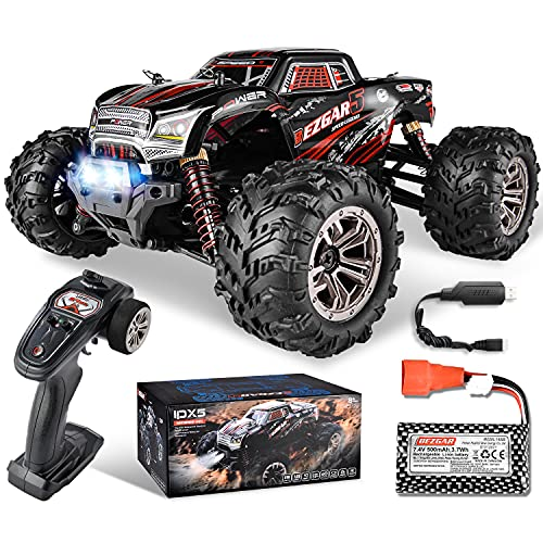 BEZGAR 5 Rc Auto Maßstab 1:20, 30 Km/h Alle Terrains 4WD Ferngesteuertes Auto Elektrisches Spielzeug...