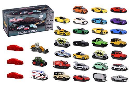 Majorette 30+3 Set, enthält 20 Spielzeugautos, 10 Premium Autos, 3 Spezial Fahrzeuge, VW Käfer,...