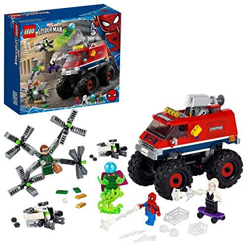LEGO 76174 Super Heroes Marvel Spider-Mans Monstertruck vs. Mysterio Spielzeug mit Doctor Octopus und...