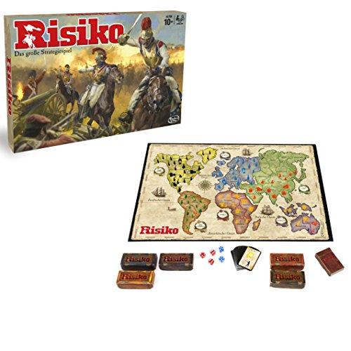 Hasbro Gaming B7404100 - Risiko, DAS Strategiespiel, Brettspiel für die ganze Familie, spannendes...