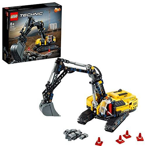 LEGO42121TechnicHydraulikbaggerBauset,2-in-1Modell,Baufahrzeug,BaggerSpielzeugab8J...