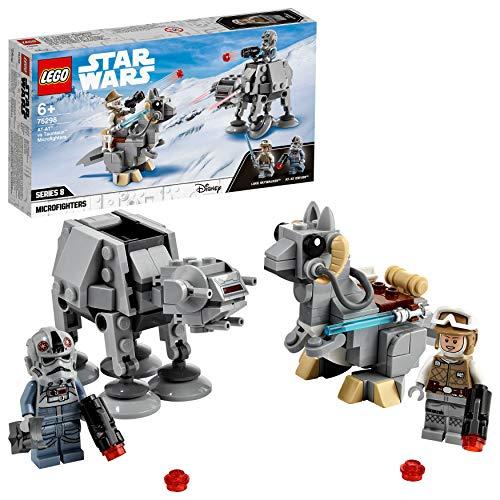 LEGO75298StarWarsat-atvs.TauntaunMicrofightersBausetmitLukeSkywalkerundat-atPi...