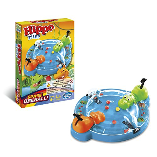 Hippo Flipp Kompakt, im praktischen Format zum Mithenhem, für Vorschulkinder ab 4 Jahren