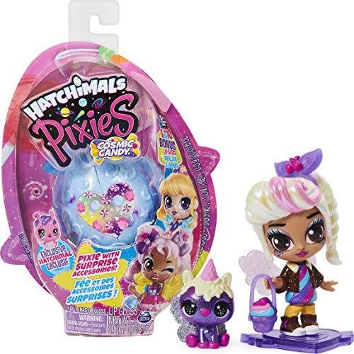 Hatchimals Cosmic Candy Pixies - Sammelfigur mit Zubehör und seltener Hatchimals CollEGGtibles Figur...
