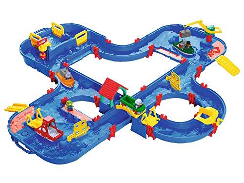 BIG Spielwarenfabrik 1660 AquaPlay - AquaPlay´nGo - 160x145x22cm große Wasserbahn, größte Wasserwelt...