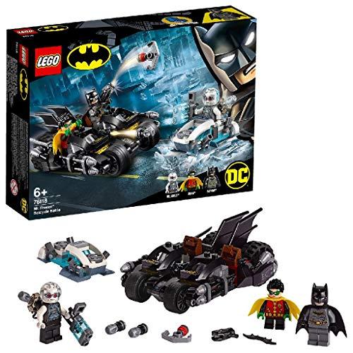 LEGO Batcycle-Duell mit Mr. Freeze