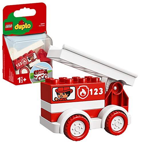 LEGO 10917 DUPLO Mein erstes Feuerwehrauto, Feuerwehrauto Starter-Set für Kleinkinder im Alter von 1, 5...