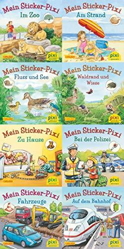 Pixi-8er-Set 234: Pixis neue Sticker-Bücher (8x1 Exemplar) (234)