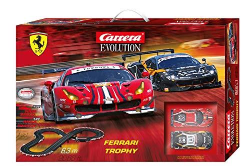 Carrera EVOLUTION Ferrari Trophy 20025230 Autorennbahn Set