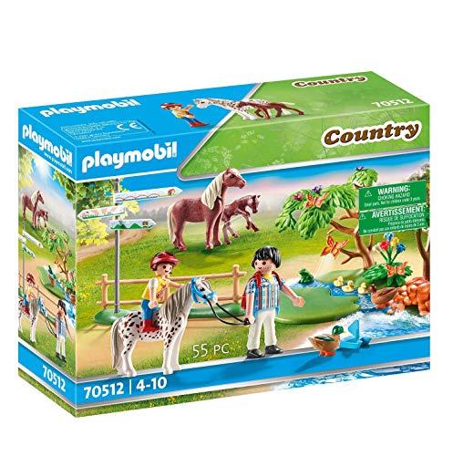 PLAYMOBIL 70512 Fröhlicher Ponyausflug, ab 4 Jahren
