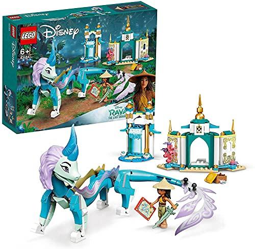 LEGO 43184 Disney Princess Raya und der Sisu Drache Spielzeug, aus dem Film Raya und der letzte Drache,...