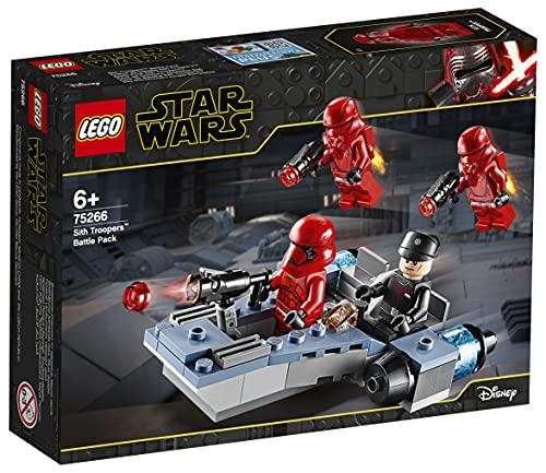 LEGO 75266 Star Wars Sith Troopers Battle Pack Spielset mit Battle Speeder, Der Aufstieg Skywalkers...