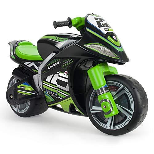 INJUSA - Laufrad Kawasaki Winner XL Schwarz und Grün mit offizieller empfohlener Markenlizenz für...