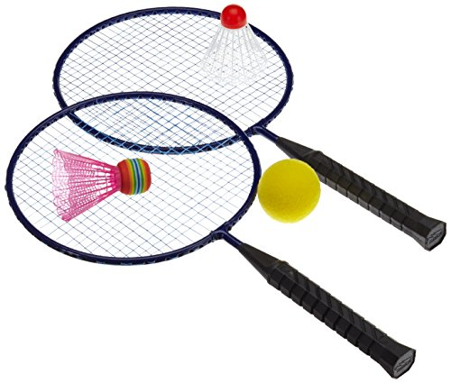 Hudora Federball-Set Fun, Badminton, mehrfarbig 76046