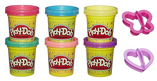 Play-Doh Glitzerknete für fantasievolles und kreatives Spielen