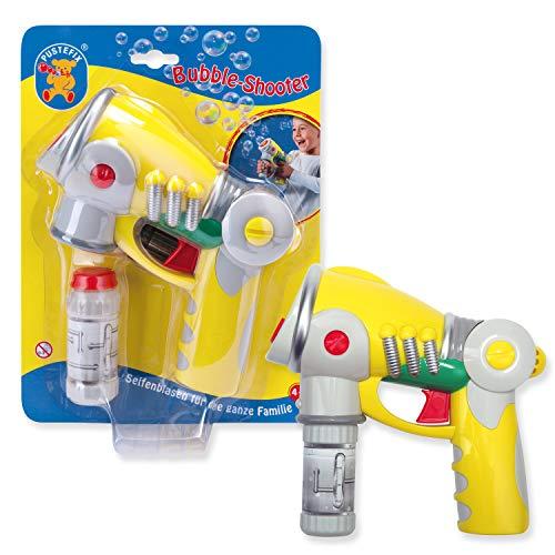 Pustefix Bubble-Shooter I 55 ml Seifenblasenwasser I Bunte Bubbles für Hochzeit, Kindergeburtstag,...