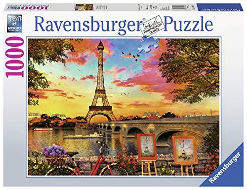 Ravensburger Puzzle 15168 - Le quais de Seine - 1000 Teile Puzzle für Erwachsene und Kinder ab 14 Jahren...