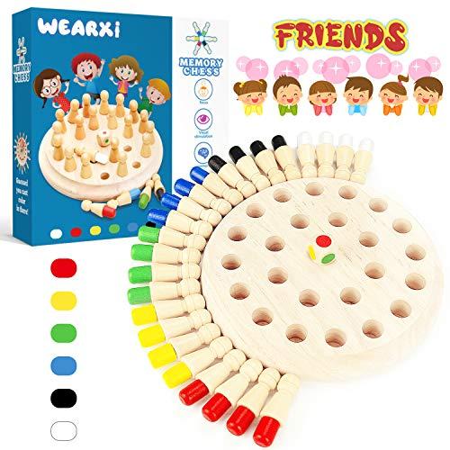 WEARXI Memory Spiele Spielzeug ab 2 3 4 jahren für Draußen Kinder, Outdoor Spiel Spielzeug Kleine...
