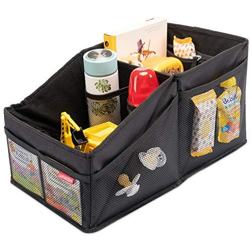 HerzensKind Rücksitz-Organizer für den Rücksitz oder Kofferraum. Für einfaches Verstauen von Windeln...