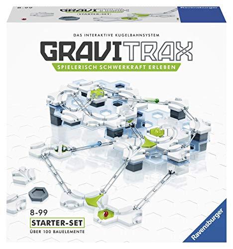 Ravensburger GraviTrax Starterset - Erweiterbare Kugelbahn für Kinder, Interaktive Murmelbahn,...
