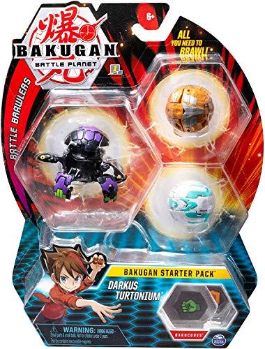 BAKUGAN Starter Pack - Pack Darkus Turtonium