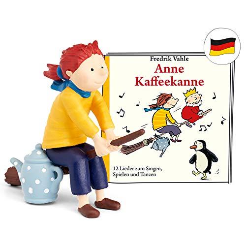 tonies Hörfiguren für Toniebox: Anne KAFFEEKANNE Figur mit 12 Kinderliedern - ca. 40 Min. - ab 4 Jahre...