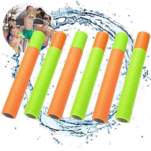 Wasserpistole, Mini Wasserspritzpistole Schaumstoff Wasserpistole Spritzpistole Wasserspritze 6stk (33cm)