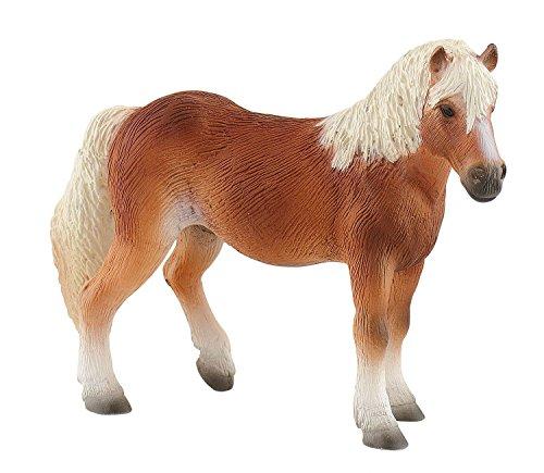 Bullyland 62696 - Spielfigur, Haflinger Stute, Pferd ca. 13,6 cm, ideal als Torten-Figur, detailgetreu,...