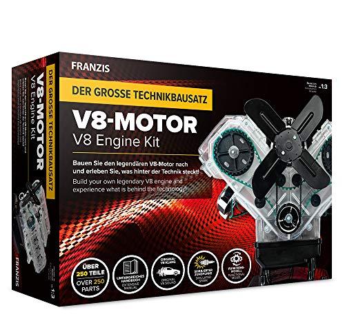 Der große Technikbausatz V8-Motor: Baue den legendären V8-Motor nach und erlebe was hinter der Technik...