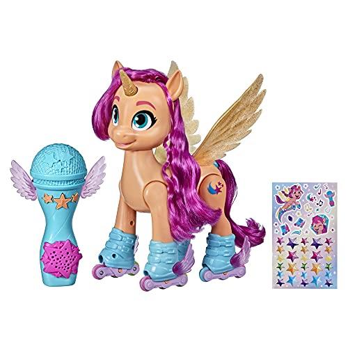 My little Pony, Eine Neue Generation Sing und Skatespaß Sunny Starscout, interaktives Pony (22,5 cm), 50...