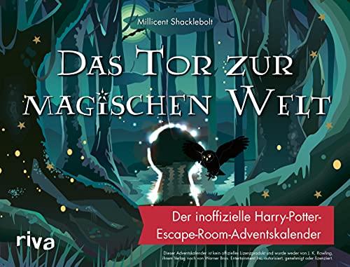 Das Tor zur magischen Welt: Der inoffizielle Harry-Potter-Escape-Room-Adventskalender 2021 (neu)