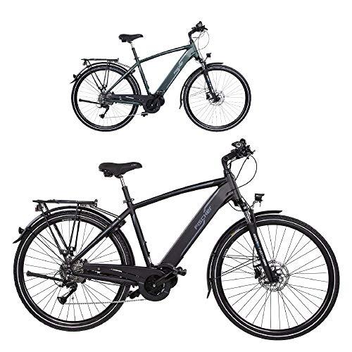 Fischer Damen E-Bike Trekking VIATOR 4.0i (2020), schwarz matt, 28', RH 44 cm, Mittelmotor 50 Nm, 48 Volt...
