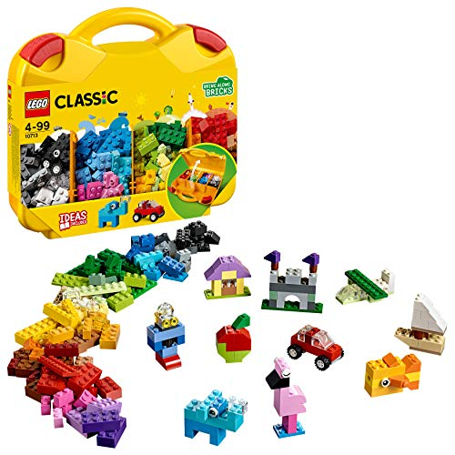 LEGO 10713 Classic Bausteine Starterkoffer - Farben sortieren, Aufbewahrungsbox und bunte Bausteine für...