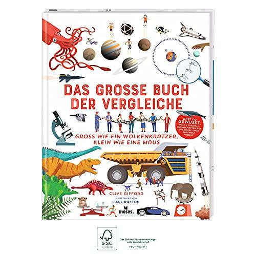 Das große Buch der Vergleiche | Spannendes Sachbuch für Kinder ab 8 Jahren: Groß wie ein...