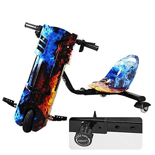 Electric Scooter Cityroller Drift-Trike Elektro Längenverstellbares Design Hinzugefügt Mit...