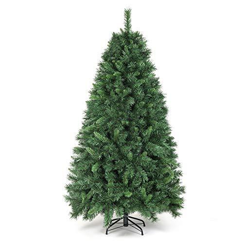 SALCAR Weihnachtsbaum künstlich 180cm mit 580 Spitzen, Tannenbaum künstlich Schnellaufbau inkl....