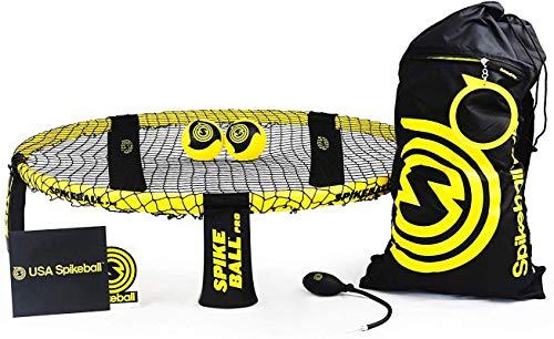 Spikeball Pro Kit (Turnier Edition) - Mit verbessertem, stärkerem Netz, neu designten Bällen für mehr...