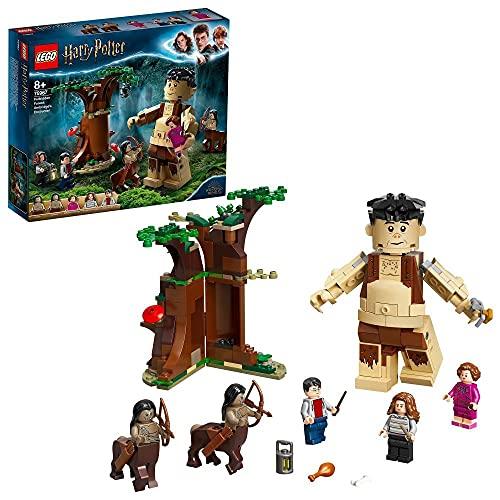LEGO 75967 Harry Potter Der Verbotene Wald: Begegnung mit Umbridge, Bauset mit dem Riesen Grawp und 2...
