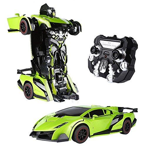 SainSmart Jr. RC Transformator Roboter-Auto, Fernbedienung Aktion Deformation Figur, Form-Schicht-Modell...