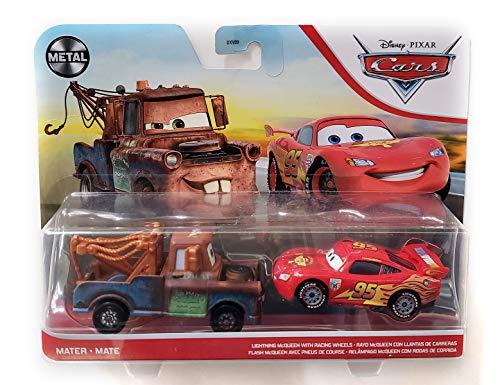 Auswahl Doppelpack | Disney Cars | Fahrzeug Modelle 2020 | Cast 1:55 | Mattel, Typ:Mater & Lightning...