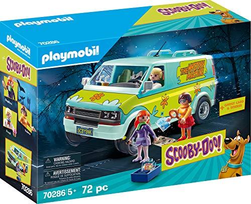 Playmobil SCOOBY-DOO! 70286 Mystery Machine mit Lichteffekten, Ab 5 Jahren