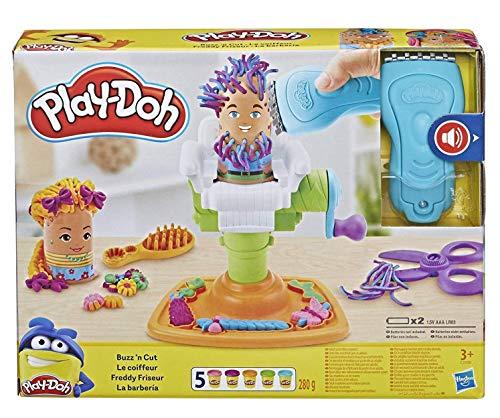 Play-Doh Freddy Friseur, Knete für fantasievolles und kreatives Spielen, ab 3 Jahren