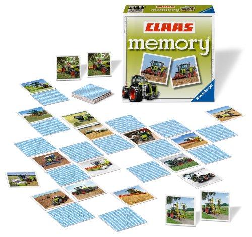 Ravensburger Kinderspiele 22171 - CLAAS memory®, das weltbekannte Gedächtnisspiel mit beeindruckenden...