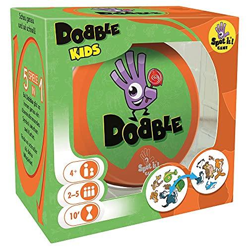 Asmodee Dobble Kids, Familienspiel, Reaktionsspiel, Deutsch
