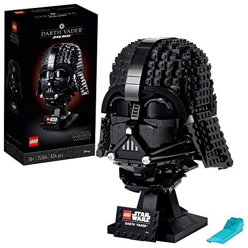 LEGO75304StarWarsDarth-VaderHelmBausetfürErwachsene,Deko,Geschenkidee,Modellzum...