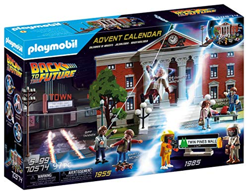 PLAYMOBIL Adventskalender 70574 Back To The Future, Ab 5 Jahren