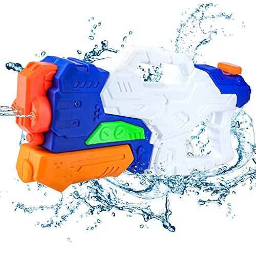 Wasserpistole Spielzeug, 1000ML Spritzpistolen 3 Düsen für Kinder Erwachsene Große...