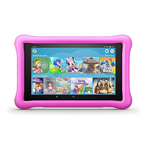 FireHD8 KidsEdition-Tablet, 8-Zoll-HD-Display, 32GB, pinke kindgerechte Hülle (vorherige...