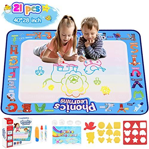 Tesoyzii Spielzeug Mädchen 2 3 4 5 6 Jahre, Aqua Doodle Kinder Spielzeug Jungen 2 3 4 5 6 Jahre Mädchen...