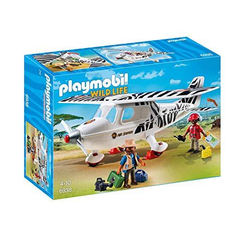 PLAYMOBIL Wild Life 6938 Safari Flugzeug, Ab 4 Jahren